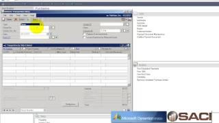 Use Microsoft Dynamics GP Inventory Returns Part 1