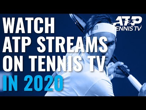 Watch Live ATP Streams On Tennis TV In 2020!