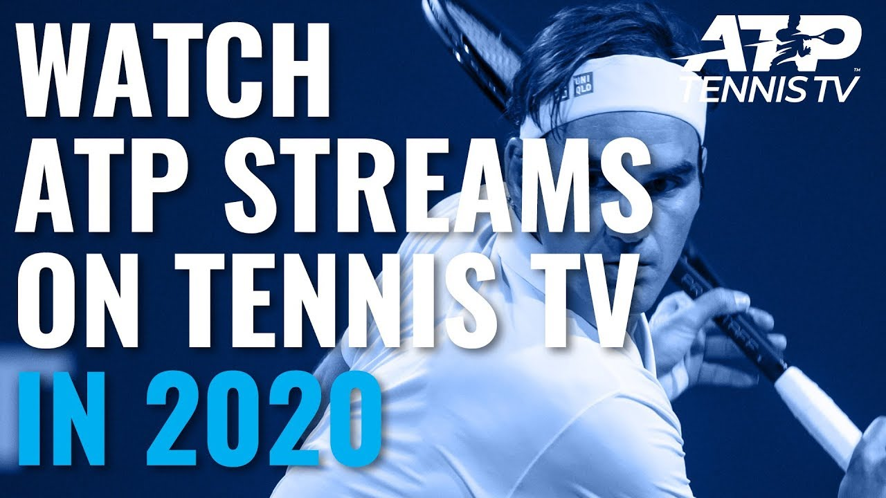 Watch Live Atp Streams On Tennis Tv In 2020 Youtube