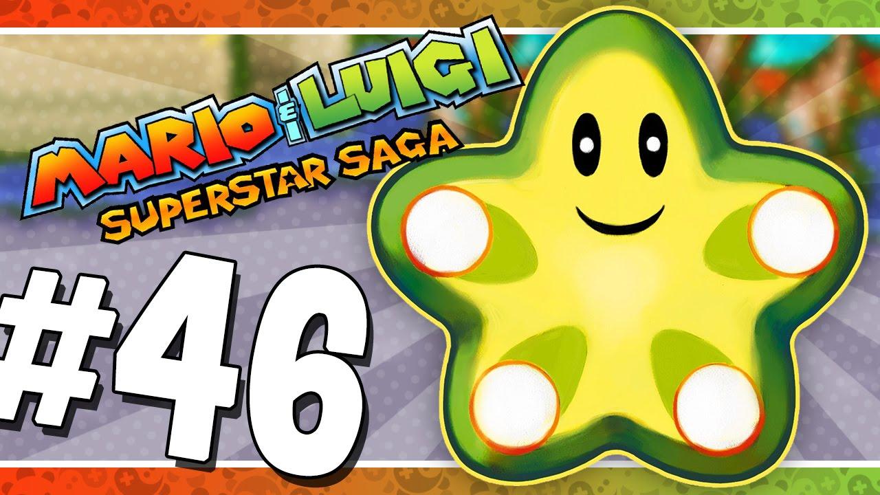 Mario Luigi Superstar Saga The Last Beanstar Piece 46 Game Boy Advance Walkthrough