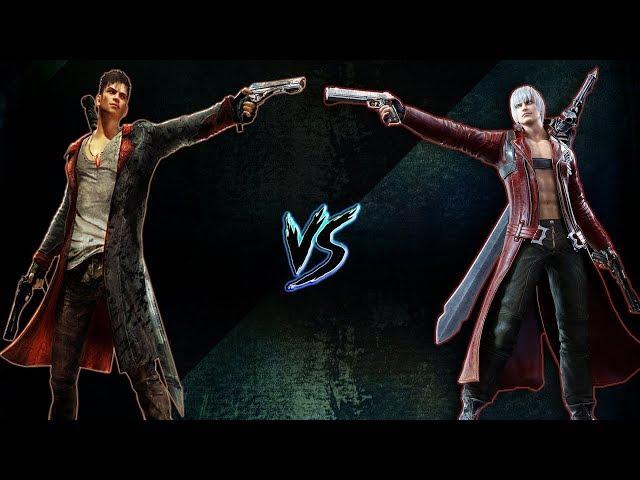 Dante (DmC) Vs Dante (DMC3) | ¿Quién Ganaría?
