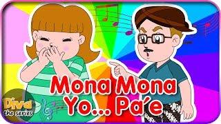Mona Mona Yo Pa'e (Johny Johny Yes Papa versi Jawa )   Diva bernyanyi   Diva The Series Official