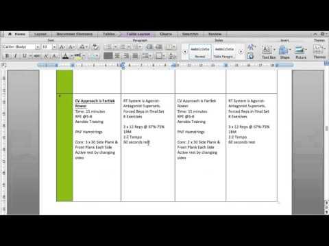 Level 3 Designing the 8 Week Plan