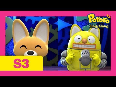 #6 Tick Tock Tick Tock My Clock | Nursery Rhymes | Kids Pop | Pororo Singalong show S3