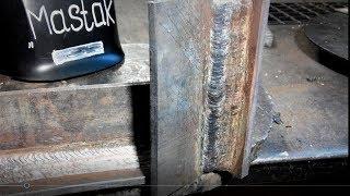 Как варить металл в вертикальном положении Катет шва