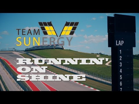 Team Sunergy 2017: Runnin' on Shine