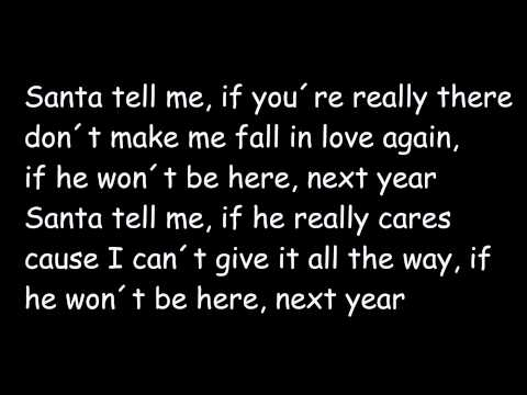 Santa Tell Me (Lyrics) - Ariana Grande