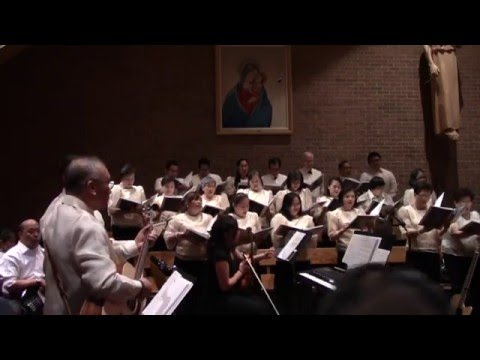 Our Lady of Good Counsel Hymn - Simbang Gabi 2015 by OLGC Serenata
