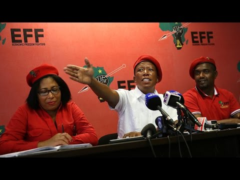 'Grandpa it's enough now, let go' – Malema tells Mugabe