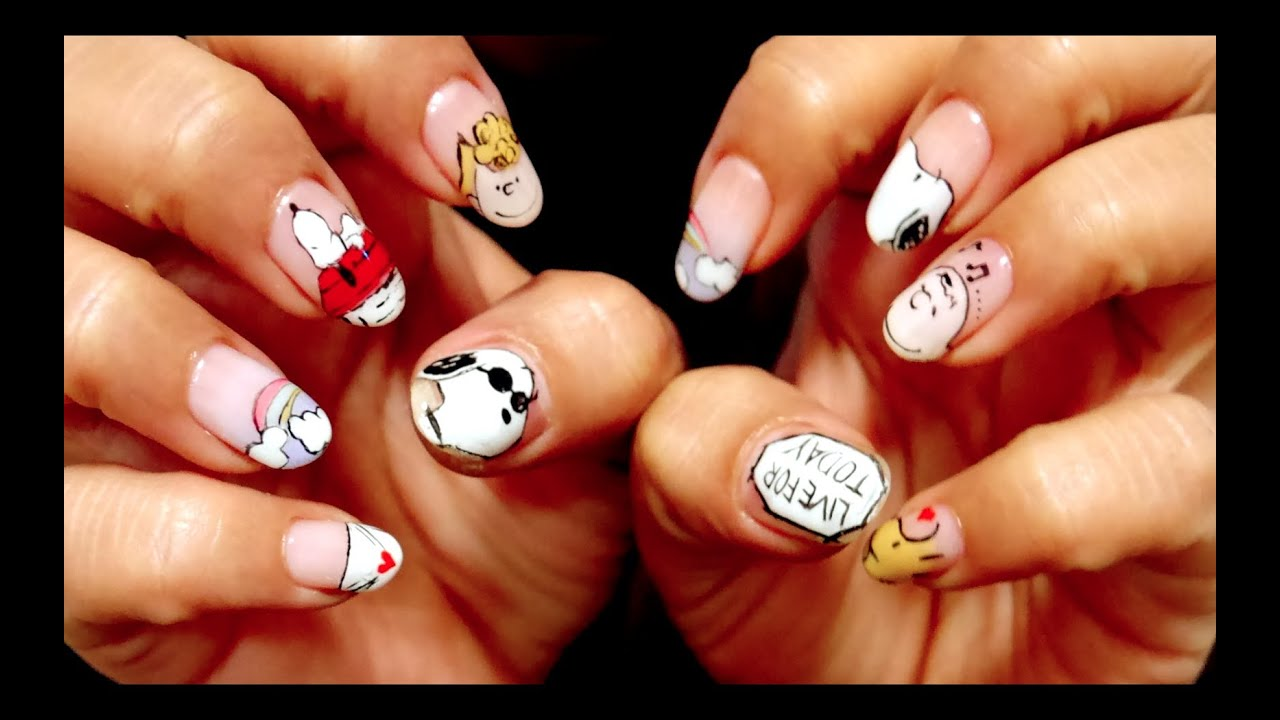 Episode 4 , SNOOPY NAIL ART