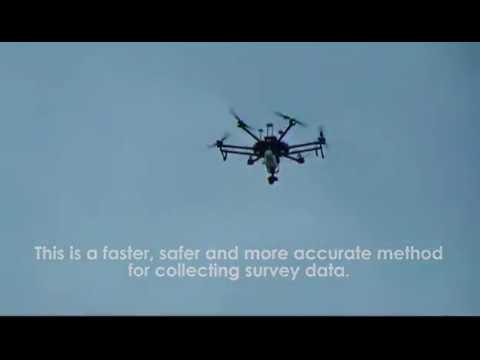 Aerial LiDAR Drone Scanning
