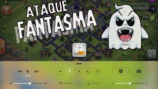 COMO HACER EL ATAQUE FANTASMA - CLASH OF CLANS