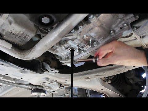 Замена масла в АКПП на Land rover Freelander 2  Ленд Ровер Фрилендер 2  2014года  2,2
