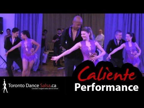 Toronto Dance Salsa's Caliente Team - Jessica, Ruzanna, Katerina, Felipe, Rhema & Adrian