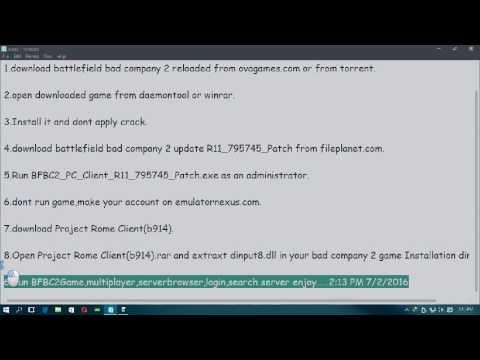 Battlefield: bad company 2 game trainer v1. 6 +4 trainer download.