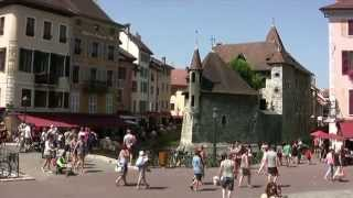 Haute-Savoie découverte d'Annecy ville fleurie