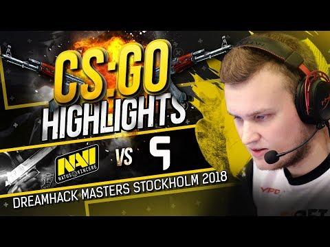 CSGO Highlights: NAVI vs Ghost @ DreamHack Masters Stockholm 2018