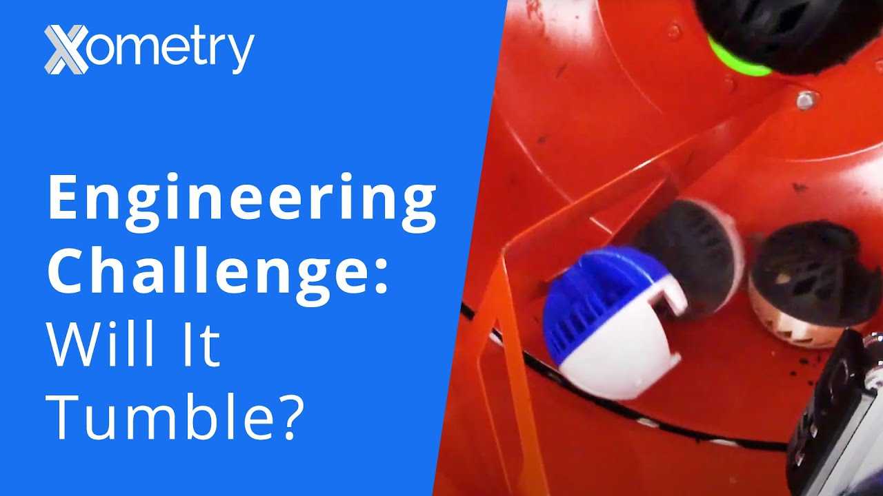 Engineering Challenge | Will It Tumble: Testing 3D Printed Parts With a Cement Mixer