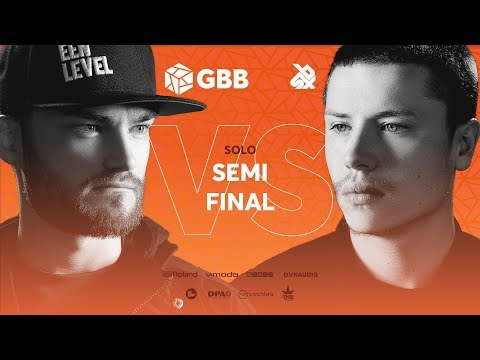 B-ART vs D-LOW | Grand Beatbox Battle 2019 | SEMI FINAL