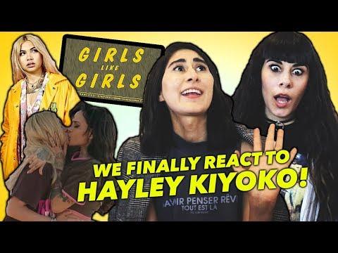 WE FINALLY REACT TO HAYLEY KIYOKO! (What I...