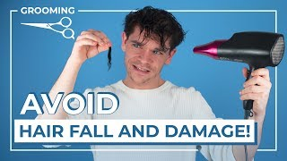 Do Hair Dryers Damage Your Hair? | Men's Hair