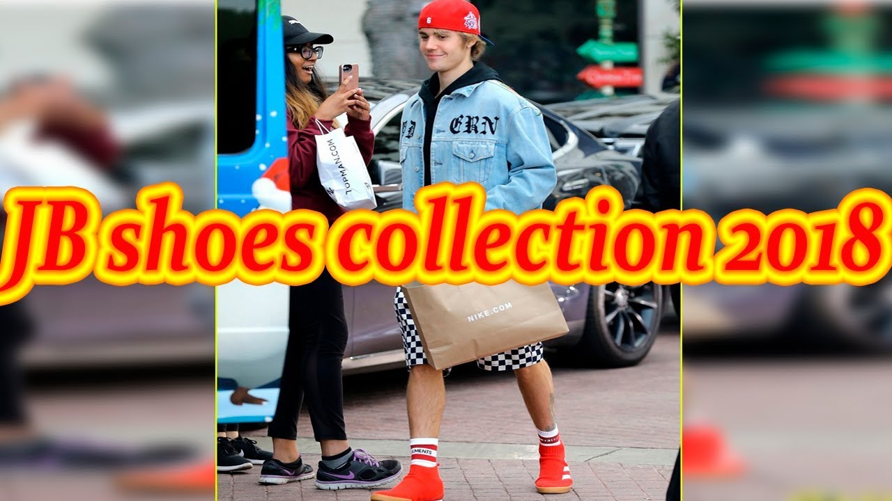 Justin Bieber's Shoes 20152016 YouTube