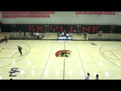 Skyline College vs. College of Marin Mens' Basketball