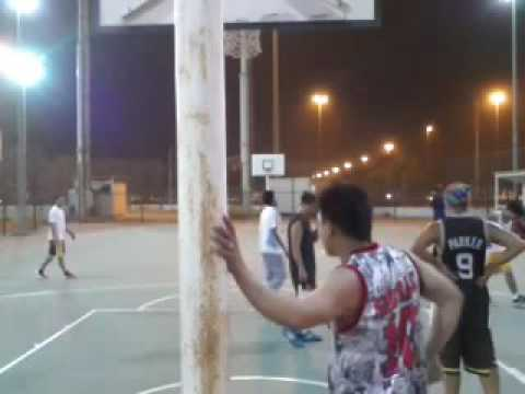 Basketball in Kuwait-1st game-8/5/2016