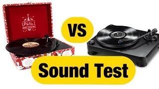Suitcase Player Vs. LP-7 Sound…