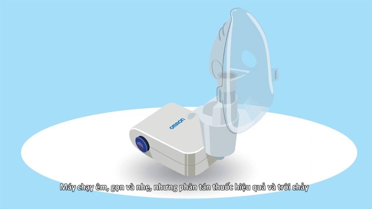 Hướng dẫn sử dụng máy xông mũi họng NE-C803