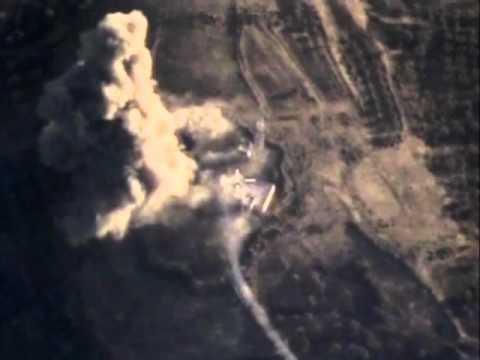 Уничтожение укрепленного опорного пункта боевиков в провинции ИДЛИБ