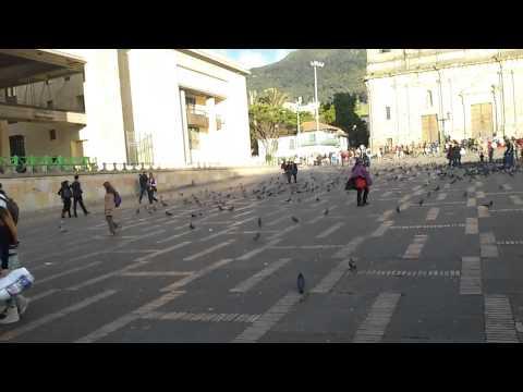 Plaza De Bolivar Bogota Samy Y Leo