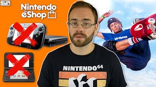 The eShop Shuts Down For Wii U/3DS In Several Countries And A New Tony Hawk Game Leaks? | News wave