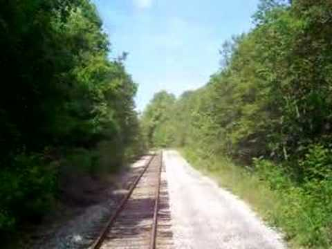 Abandoned B & O Railroad Spur  Fayette Central Railroad Dunbar PA Part 1 Travel Video