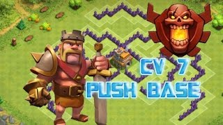 Clash Of Clans - Layout 7 Push | Town Hall 7 Trophy Base