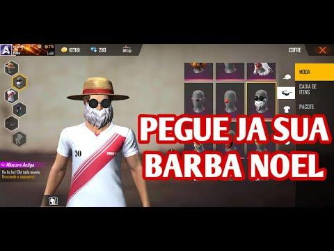 PEGUE A BARBA DO NOEL APARTIR DE 9 DIAMANTES!!! EVENTO COMBO TRIPLO BARBA DO NOBRU