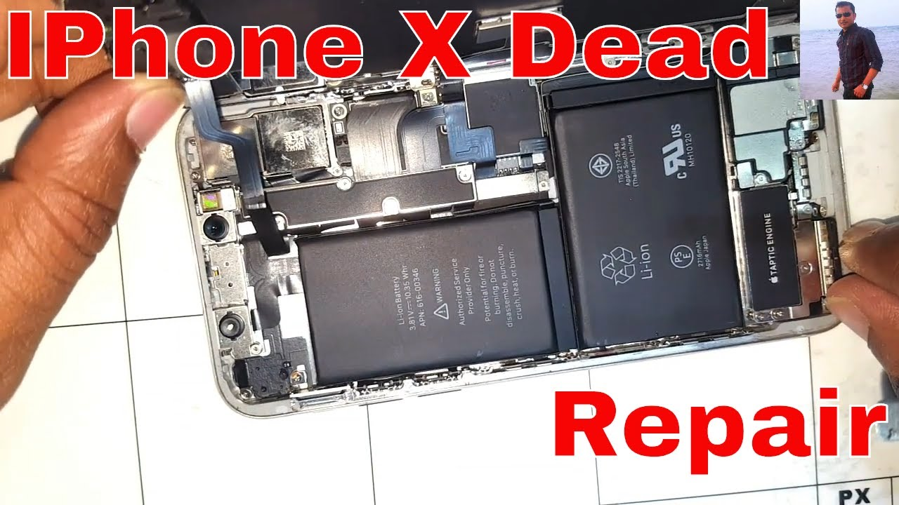 How To A Iphone X Water Damage Repair