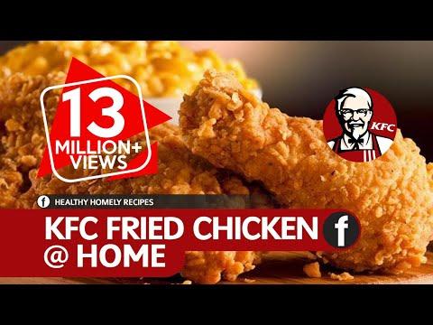 How To Make KFC Fried Chicken | Crispy Spicy Fried Chicken Recipe | Fuze HD | Dish 04