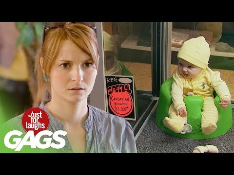 Babies On Sale, Scary Frog, Crazy Game Buzzer Pranks | Throwback Thursday