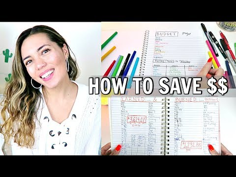 HOW I BUDGET, TRACK MY SPENDING & $AVE!! (budget with me!)