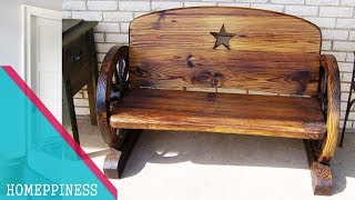 IDEAS FOR HOME | 50+ Rustic Outdoor Furniture - BENCH - TABLE- CHAIR