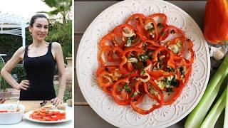 Мой Фирменный Салат Красный Маринованный Перец Рецепт от Эгине Heghineh Cooking Show
