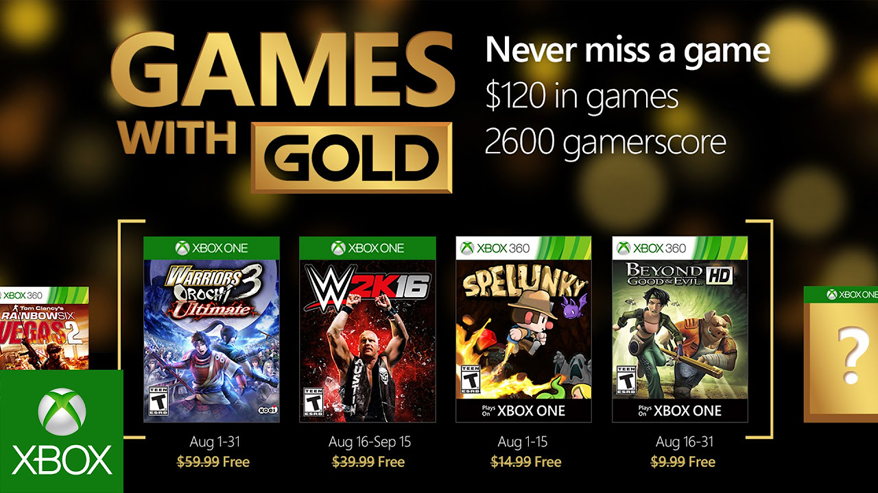 And remember xbox live gold is more than just great deals on games - And Remember Xbox Live Gold Is More Than Just Great Deals On Games 2