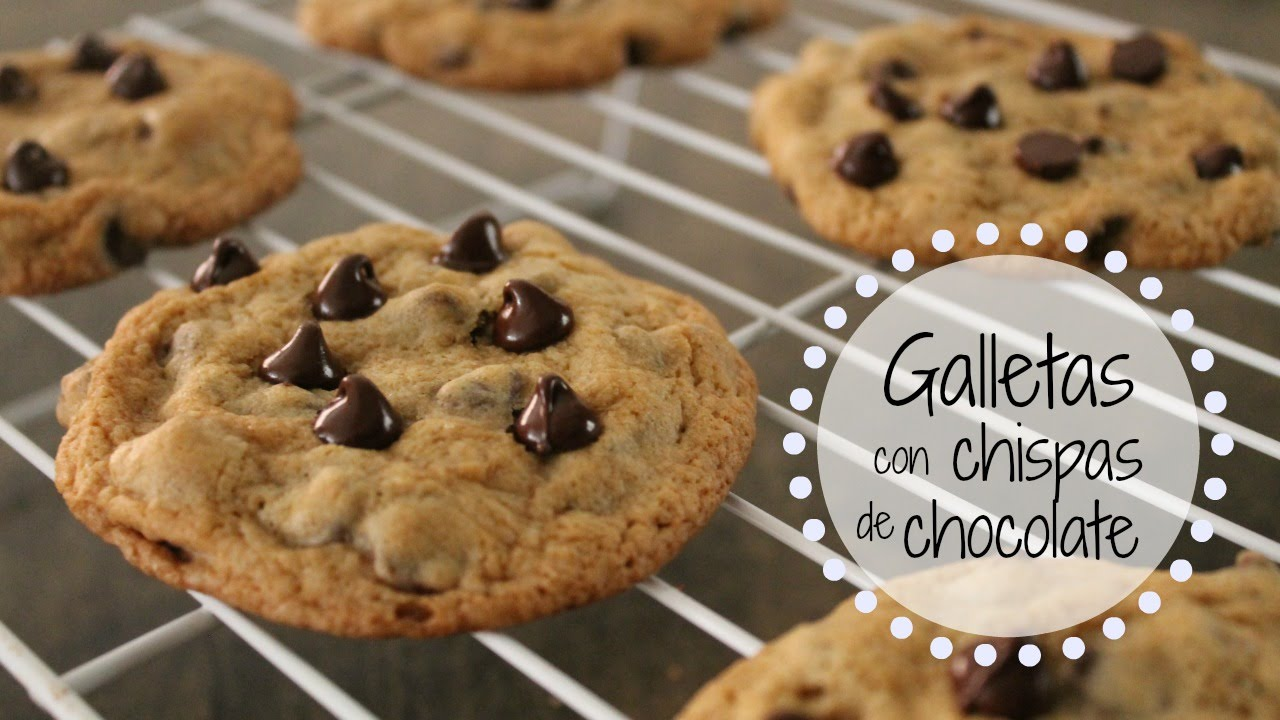 Galletas con Chispas de Chocolate | RebeO - YouTube