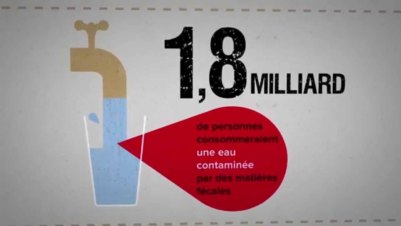 coalition eau l 39 acc s aux toilettes dans le monde youtube. Black Bedroom Furniture Sets. Home Design Ideas
