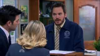 Parks and Recreation - Andy Keeping Secrets