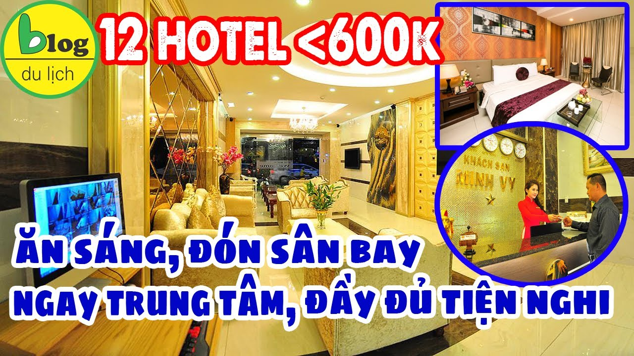 Khách sạn Tp. Hồ Chí Minh giá bình dân, đầy đủ tiện ích chỉ 600.000đ/đêm