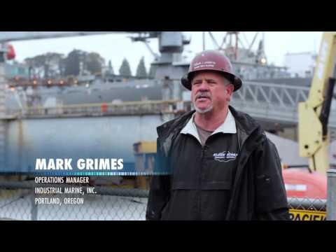 Mark Grimes, Industrial Marine Testimonial