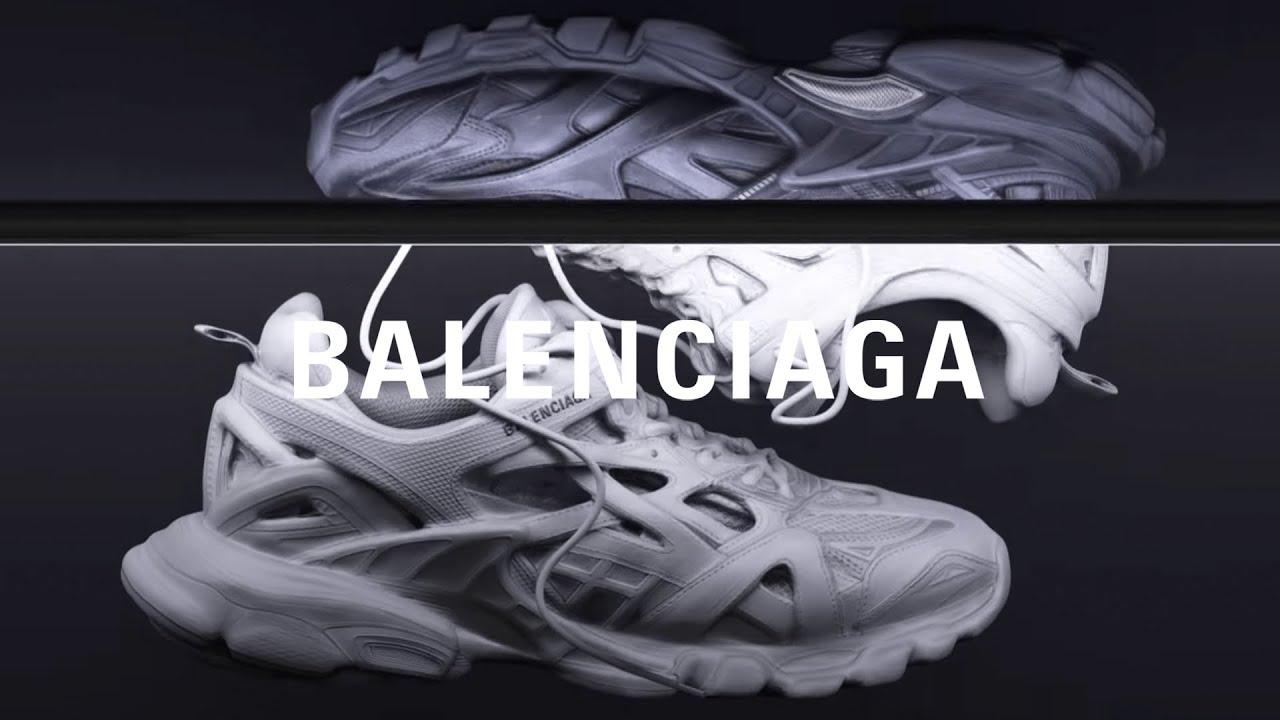 GiaY THTHAO BALENCiAGA TRACK 3 0 VaNG HaNG CAO