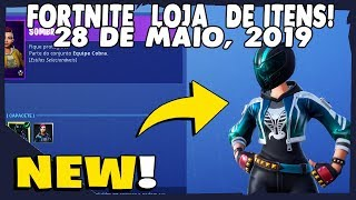 Shop Items Fortnite-today's shop 28/05/2019 new styles for EYESHADOW & MAVERICK Skin
